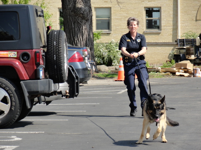 Demo of K9 power