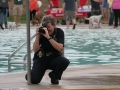Taking photos at Dog Paddle