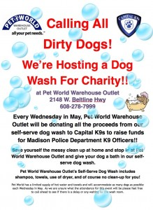 Pet World Dog Wash 2016