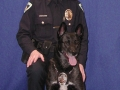 With K9 Arno in the early years