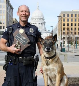 Officer Donnell and K9 Johnny