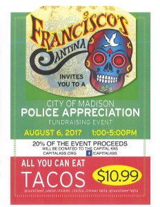 Police Appreciation event poster